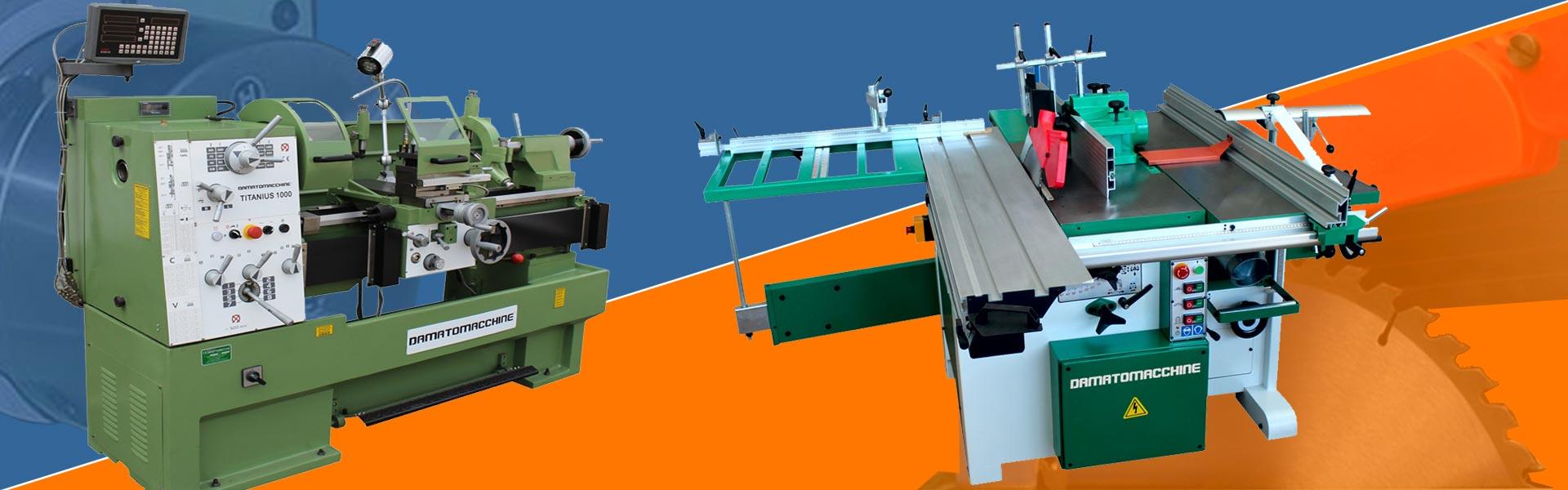 Damatomacchine il leader europeo di macchine legno e metalli for Damato macchine utensili