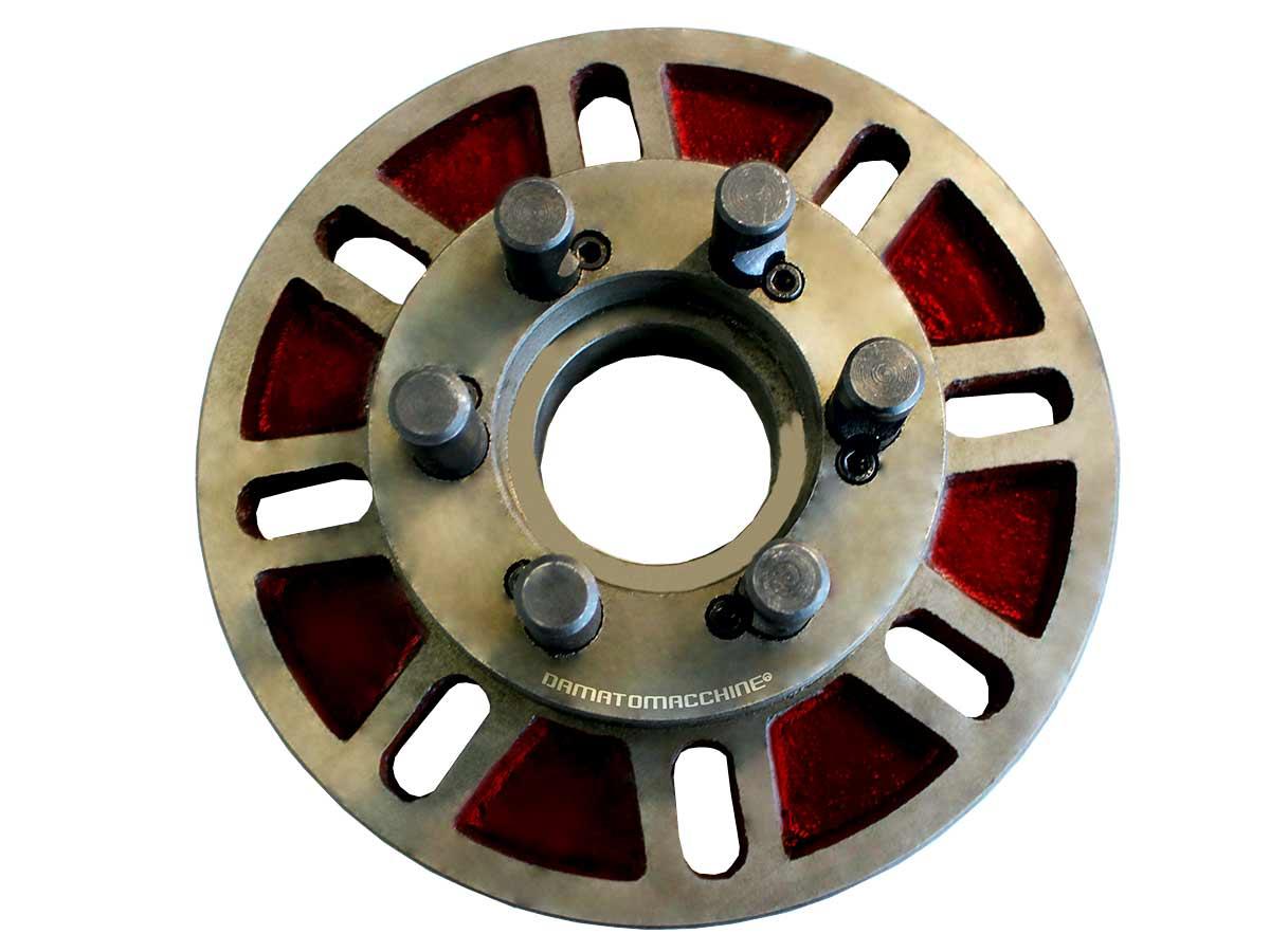 Front plate diameter 250 mm 6 CUM LOCK