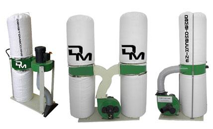 Extractores de polvo para Madera