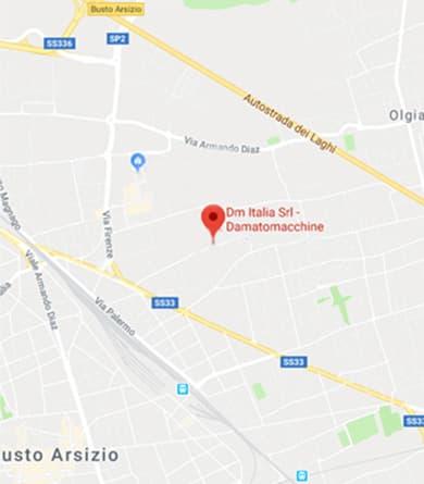 go to damatomacchine on maps