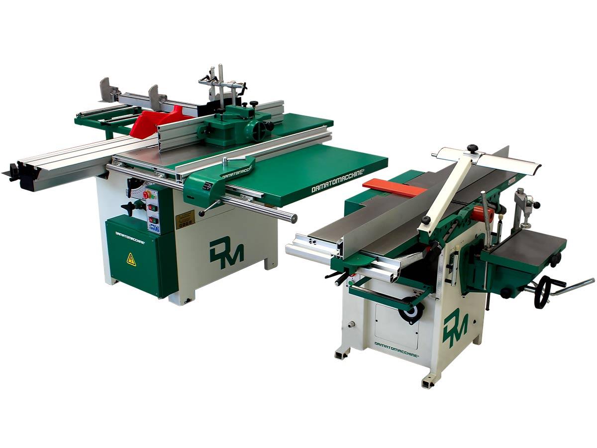 Split combination machine America Super 1600 by Damatomacchine