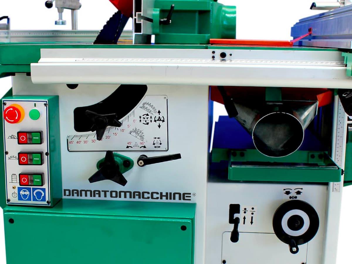 Combination Machine 7 function model America Standard powered by Damatomacchine