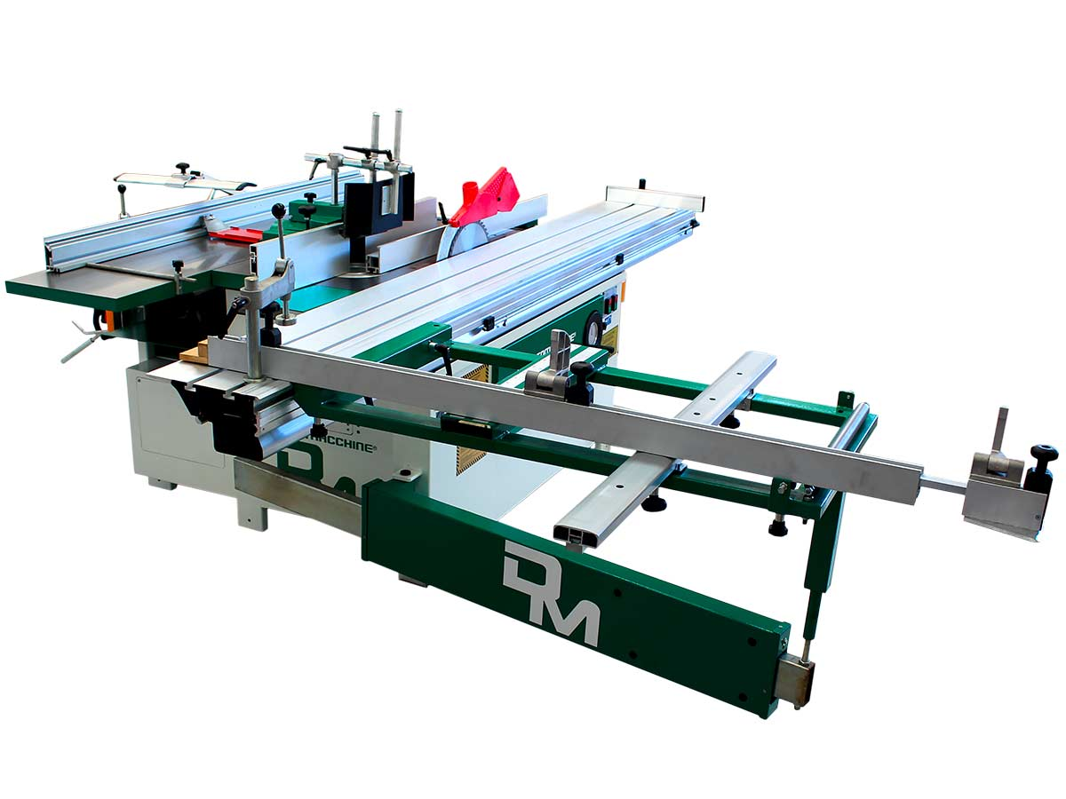 Combinata per lavorare il Legno modello America Professionale 3000-410 di Damatomacchine