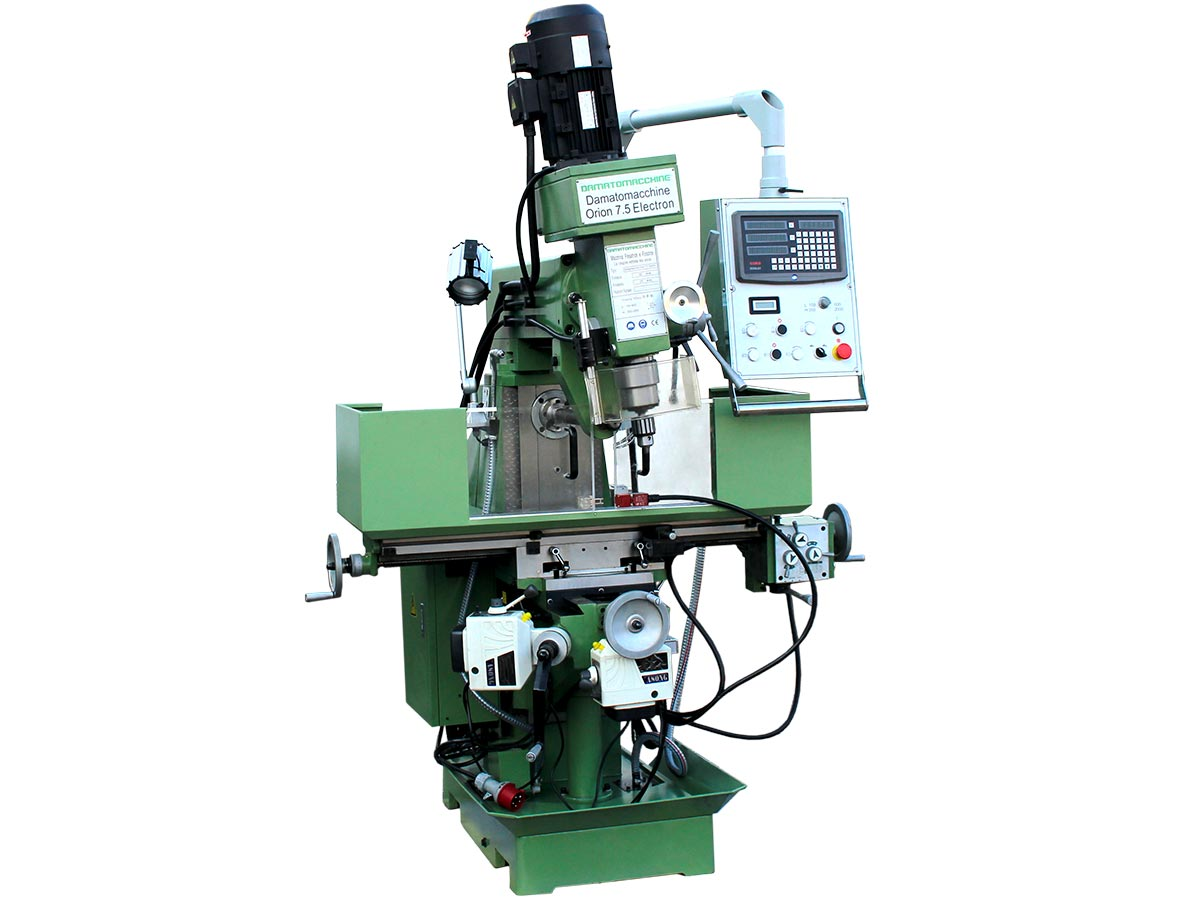 Universal Milling Machine Orion 7.5 by Damatomacchine