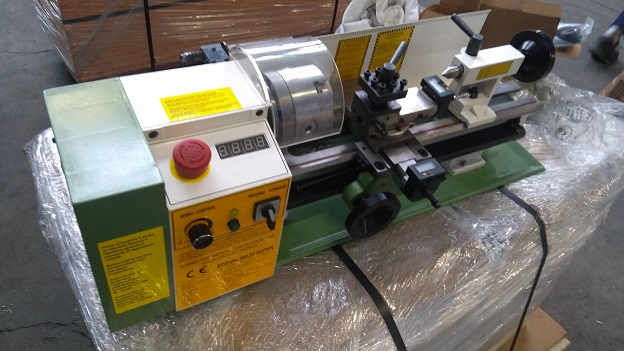 Used Edison 400 Mini Metal Lathe 1-phase