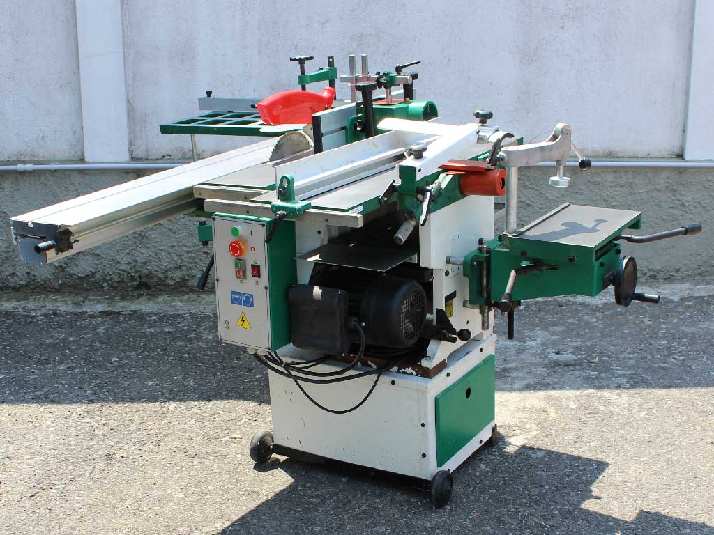 Used woodworking combination machines since 2011