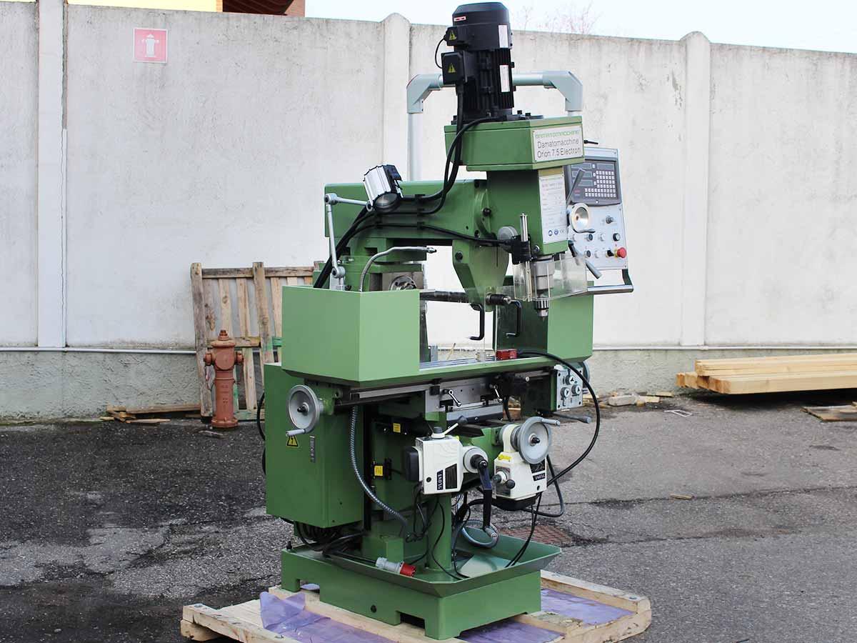 Orion 7.5 Elektron Expo three-phase milling machine