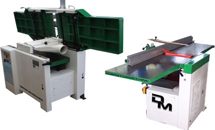 Surface & Thickness Planers