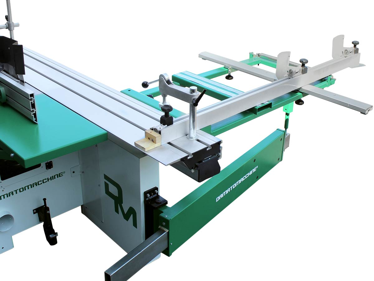 Table saw for wood with carriage 2600 mm, tilt circular saw 315 mm with engraver and independent spindle moulder