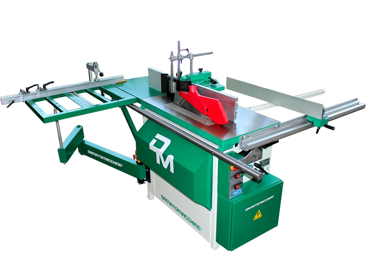 Scie à format à bois TSI Standard de Damatomacchine