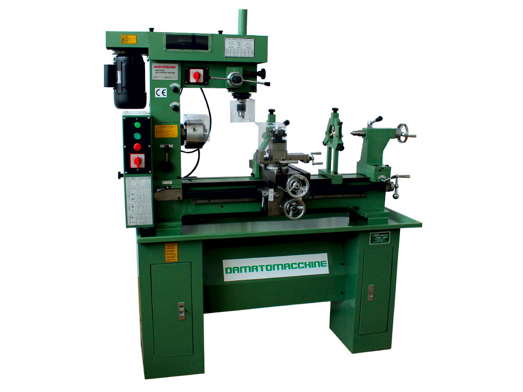 Combined Lathe-milling machine for working metals on the Evolution 800 model