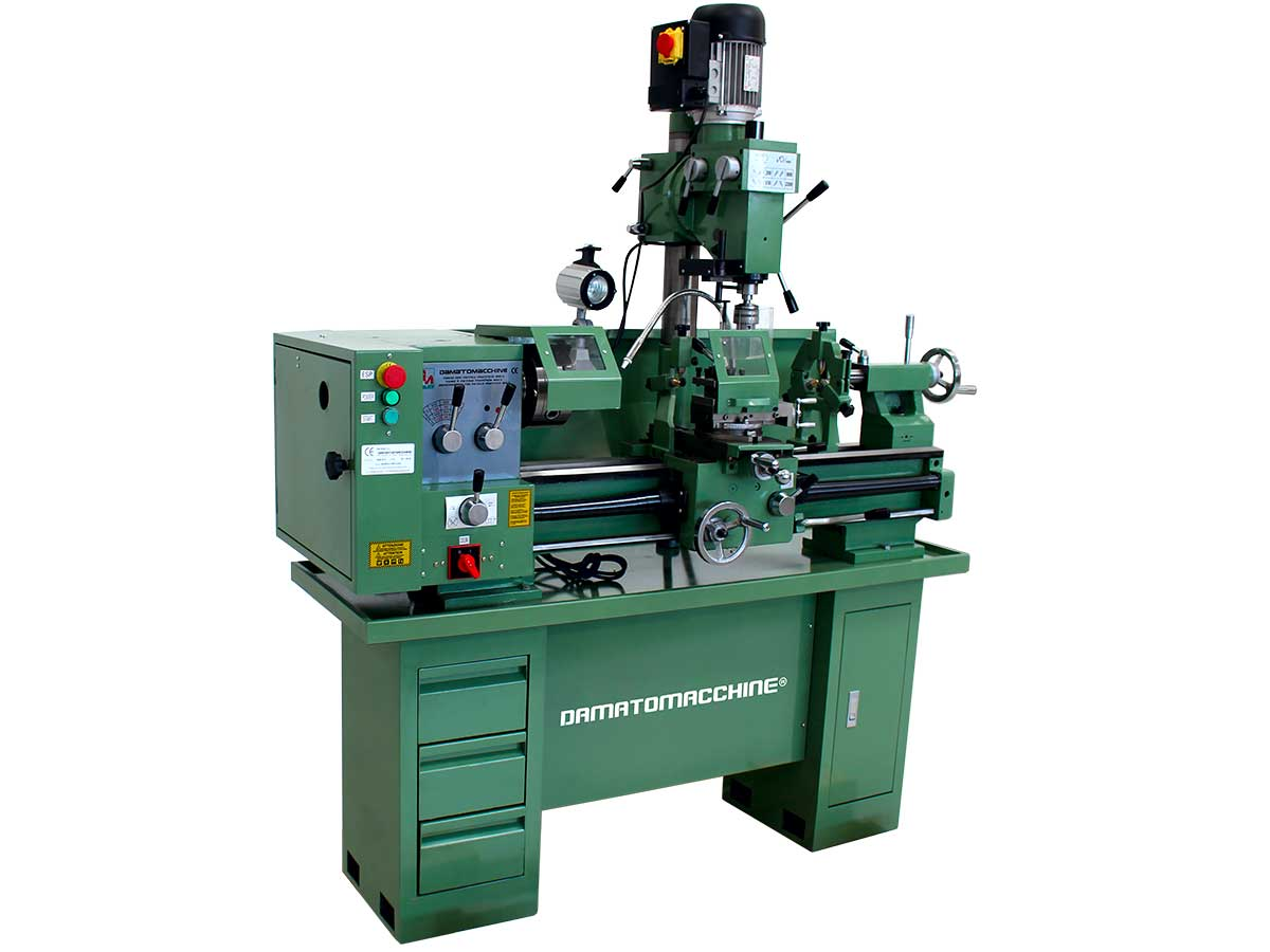 Professional lathe with milling machine Multitech 800S