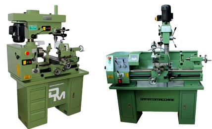 Lathe-Milling Machines