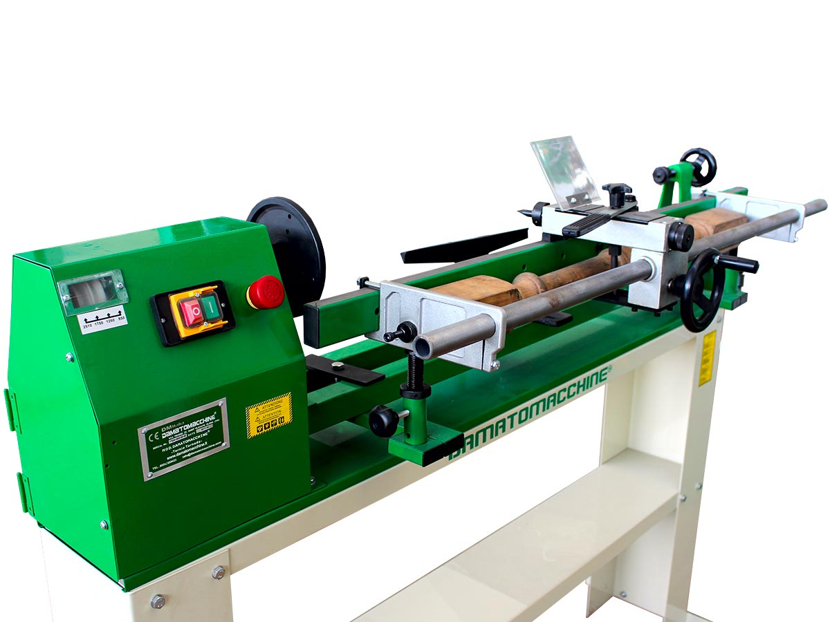 woodworking lathe with copier
