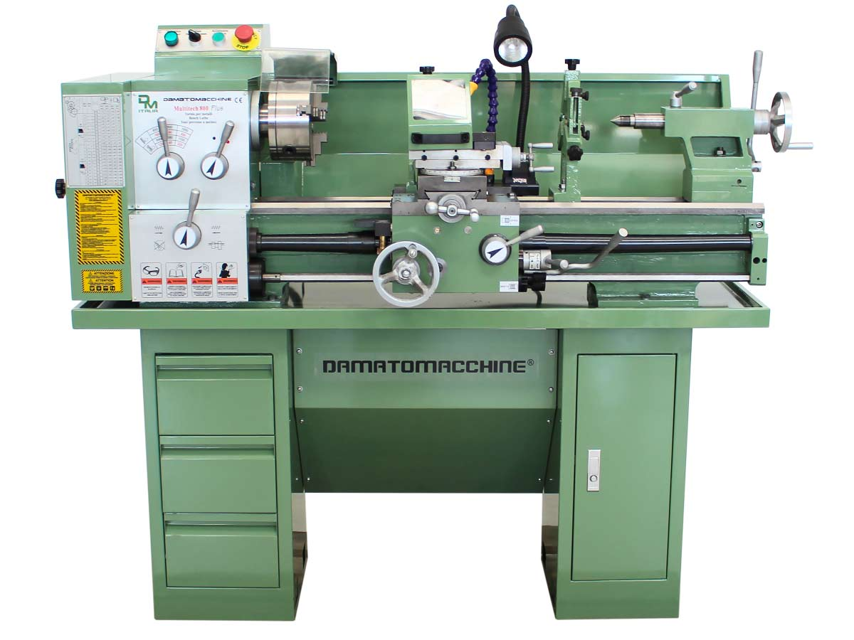 Semi-professional Bench lathe Multitech 800 Plus